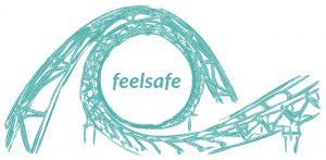 FeelSafe Rollercoaster Logo